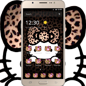 Yellow Leopard Kitty Diamond Themes