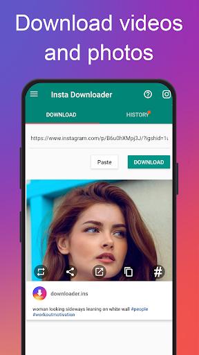 Photo & Video Downloader for Instagram - Instake 3.7 screenshots 1