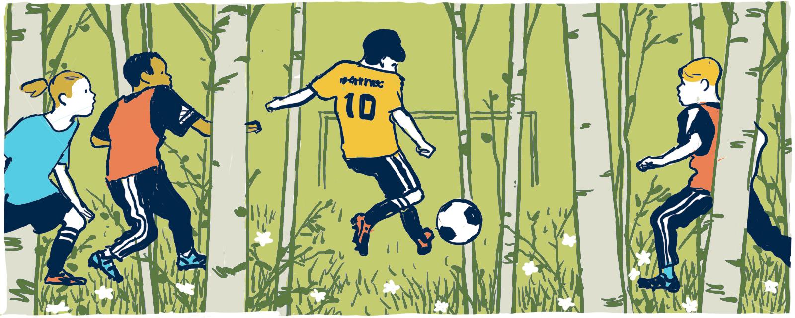 Sweden World Cup Doodle Sketch
