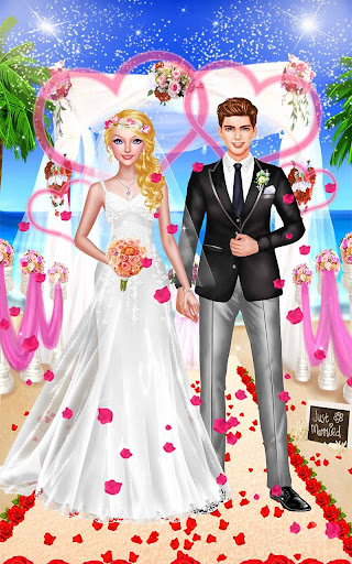 Seaside Wedding Salon Girl SPA screenshot 11