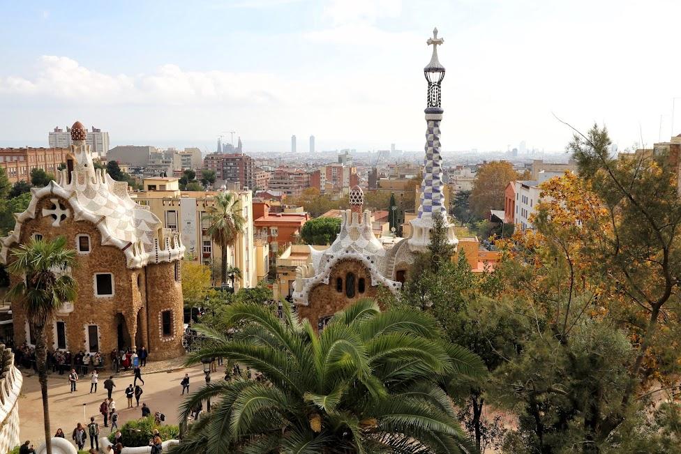 Barcelona, Park Guell, Idziemy Dalej w 2017