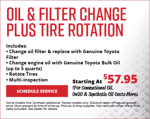 Toyota Oil Change Coupons >> Service Coupons For March In Dallas Texas South Toyota