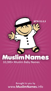 Muslim Names With Meanings- screenshot thumbnail