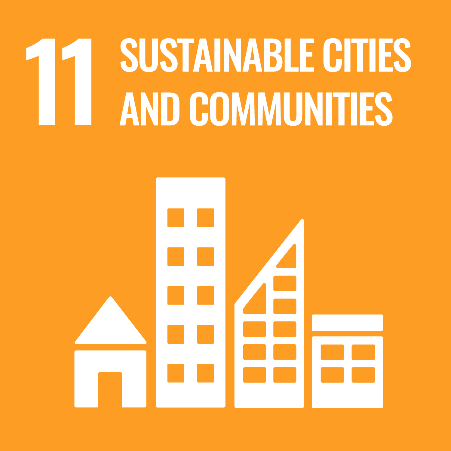 Sustainable Development Goal 11. Make cities inclusive, safe, resilient and sustainable.