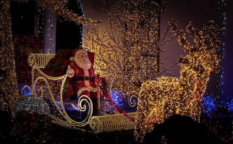 Babbo Natale sulla slitta di Atum-Pietro
