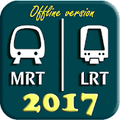 Singapore MRT Map 2017 (DTL3 included)