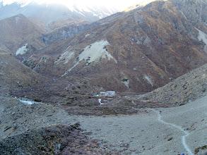 Photo: Dernière étape après une sacré journée de marche avant de monter vers le lac Tilicho.