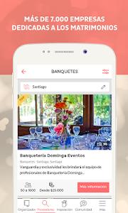 Matrimonios.cl screenshot 1