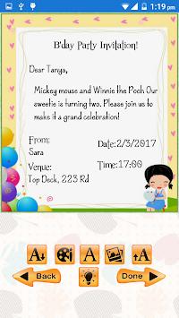 fødselsdag invitation børn
