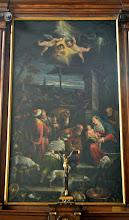 Photo: Sacrestia - L'adorazione dei Magi (Francesco da Ponte detto il Bassanino)