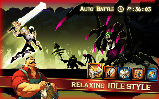 Stickman Shadow Legends - 2D Action RPG  captures d'écran 1