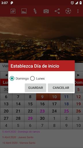 Colombia Calendario 2020 screenshots 3