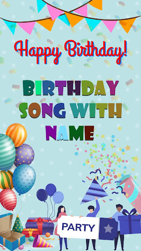 Birthday Song with Name 1.0 screenshots 1