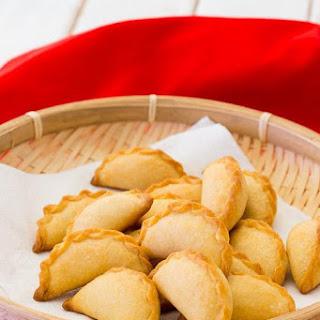 Baked Peanut Dumplings