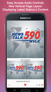 News/Talk 590 WVLK- screenshot thumbnail
