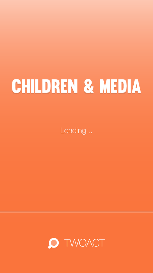 TWOACT: Children and Media- screenshot