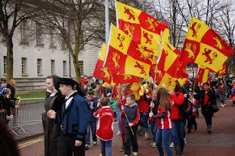 Photo: The flag of Owain Glyndŵr