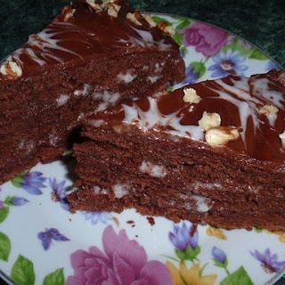 Truffle Sour cream cake