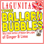Lagunitas Ballard Bubbles Series - Ginger&Lime W/ Activated Charcoal