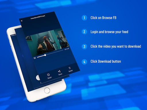 Video Downloader - Video Manager for facebook 1.3.0 screenshots 2