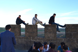 Photo: On the top of the Amed castle