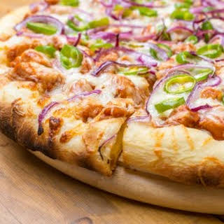 Awesome Barbeque Chicken Pizza.