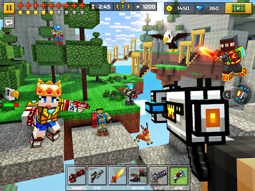 Pixel Gun 3D: Survival shooter & Battle Royale  gameplay | by HackJr.Pw 8