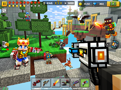Pixel Gun 3D: Survival shooter & Battle Royale Capture d'écran