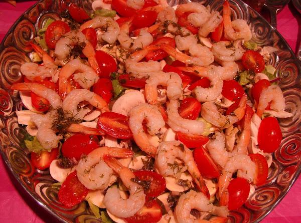 Dilled Shrimp Salad/herb Dill Dressing Recipe