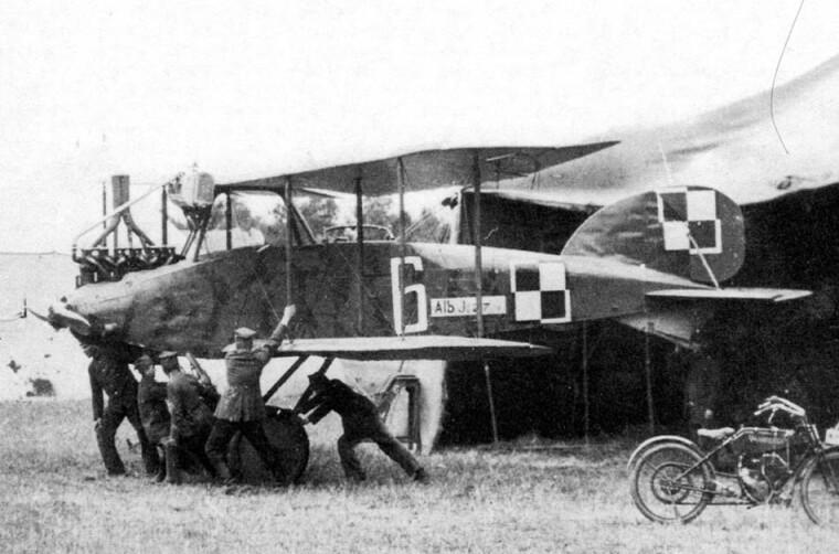 Самолет «Альбатрос» JI польской военной авиации