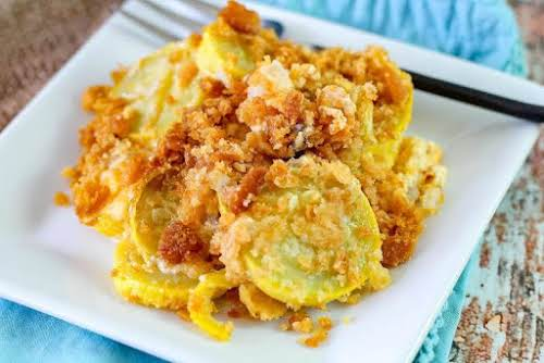 """Slap Your Mama It's So Delicious Southern Squash Casserole """"I made this..."""