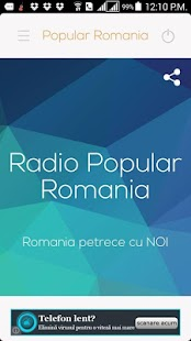 Radio Popular Romania- screenshot thumbnail