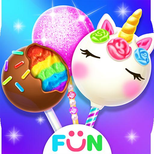 Unicorn Cake Pop MakerSweet Fashion Baking Games