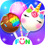 Unicorn Cake Pop MakerBaking Games