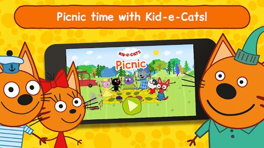 Kid-E-Cats: Three Cats on a Picnic! Kitty Games! 2