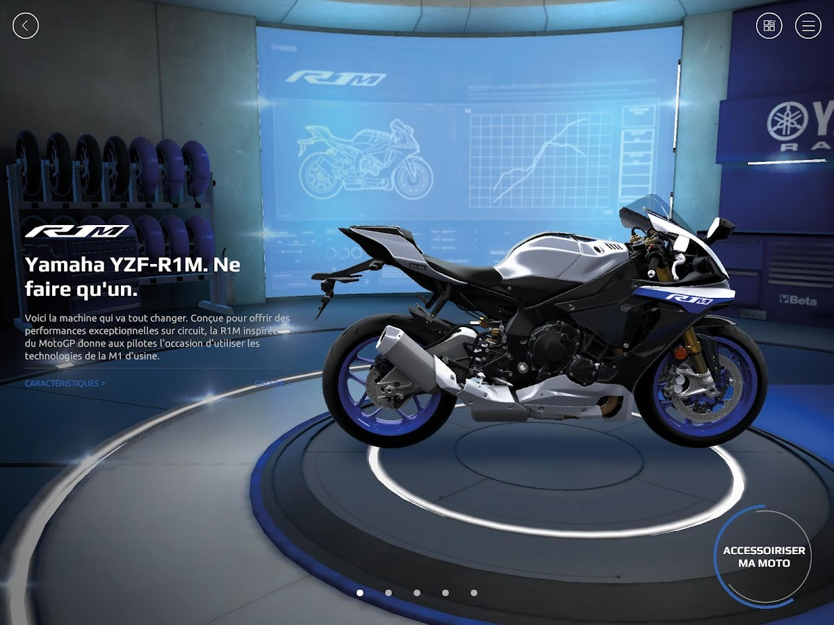 Yamaha MyGarage- screenshot