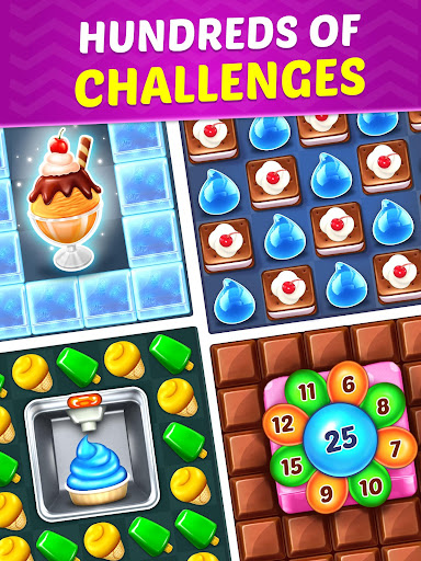 Ice Cream Paradise - Match 3 Puzzle Adventure screenshots 13