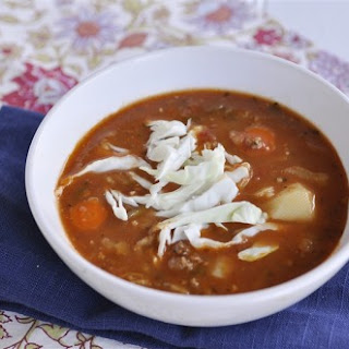 Italian Sausage Soup and Blog for a Cause