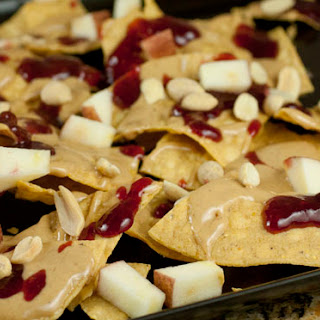 Peanut Butter and Jelly Nachos.