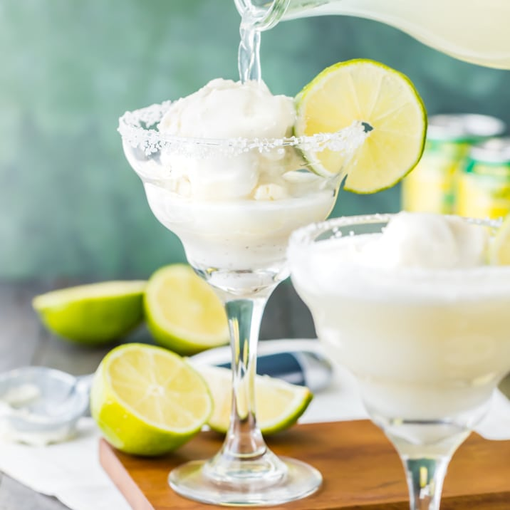 Margarita Ice Cream Float Recipe