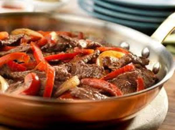 Steak And Bell Peppers Recipe