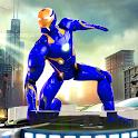 Superhero Iron Steel Robot - Rescue Mission 2020 icon