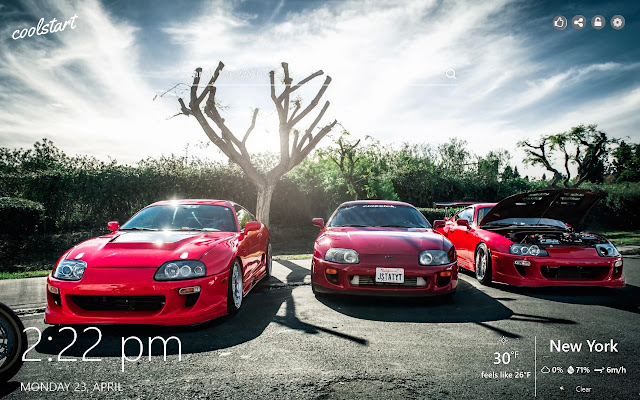 Toyota Supra HD Wallpapers Sports Cars Theme