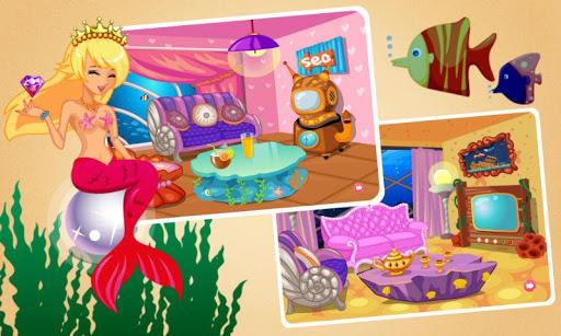 玩免費休閒APP|下載公主房间装扮之美人鱼-美人鱼公主&房间设计 app不用錢|硬是要APP