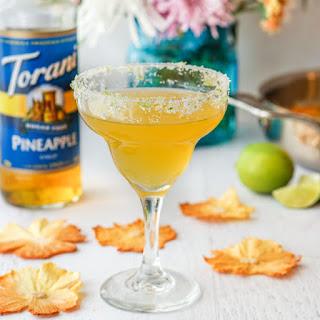 Spicy Pineapple Margarita (low carb, sugar free) #AToraniBrunch.