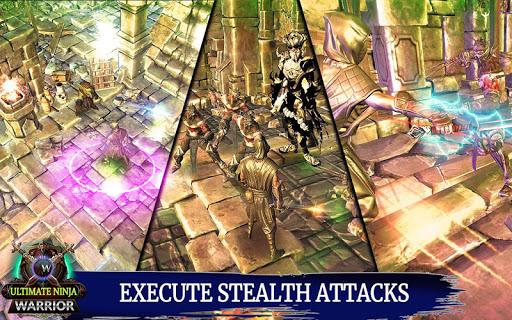Ultimate Ninja Warrior : Shadow Fighting Games  captures d'écran 1