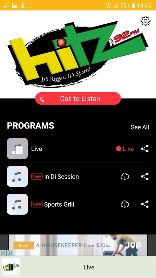 HITZ 92 FM- screenshot