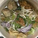 Bah Mee Noodle Soup