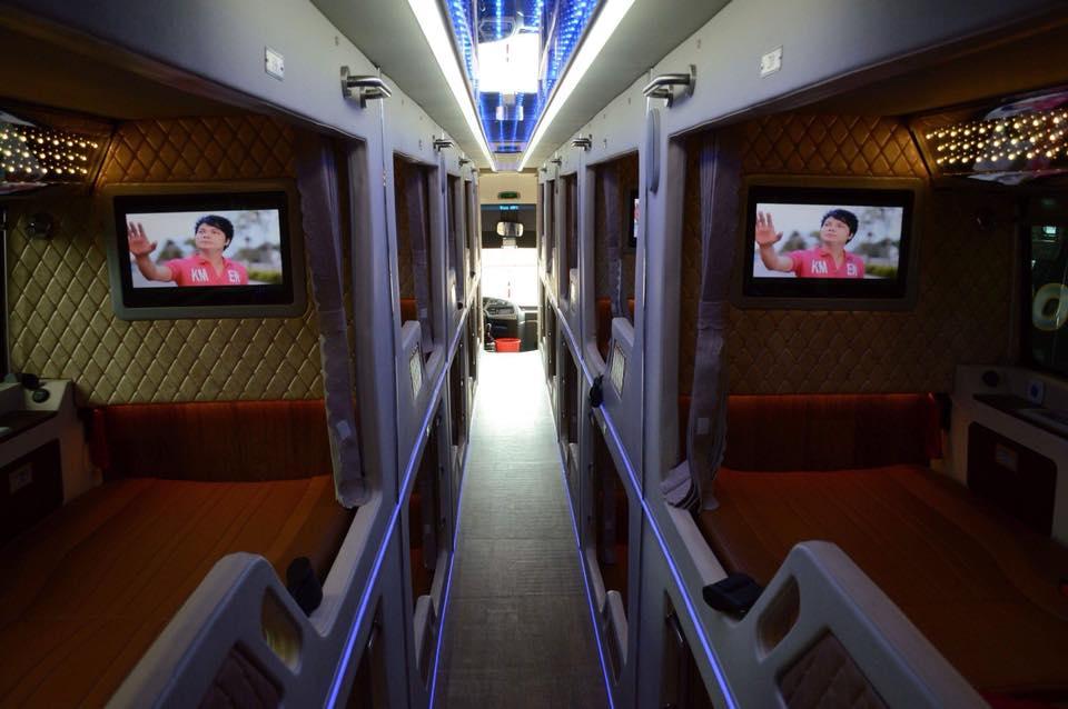 Xe giường nằm cao cấp limousine Cúc Tư từ Sài Gòn đi Phú Yên