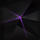 Purple Beam Atom theme